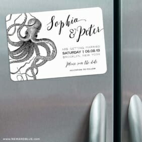 Jules 3 Refrigerator Save The Date Magnets
