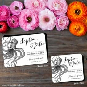 Jules 2 Save The Date Magnet Classic And Petite Size
