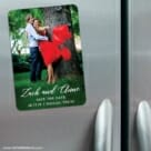 With All My Heart Nb 3 Refrigerator Save The Date Magnets