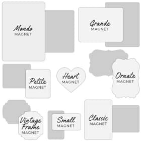 Custom Save The Date Magnet Shapes