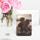 Together Forever 6 Wedding Save The Date Magnets