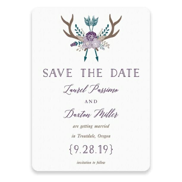 Wildaire Save The Date Postcards