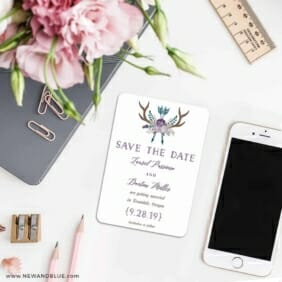Wildaire 7 Wedding Save The Date Magnets
