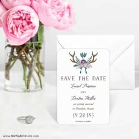 Wildaire 6 Wedding Save The Date Magnets