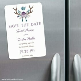 Wildaire 3 Refrigerator Save The Date Magnets