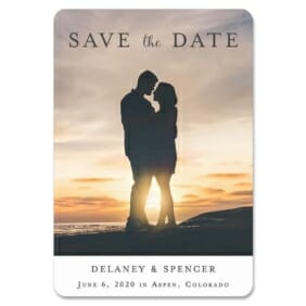 Cherished 1 Save The Date Magnets