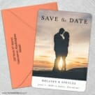 Cherished 5 Save The Date With Optional Color Envelope