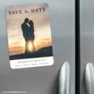 Cherished 3 Refrigerator Save The Date Magnets