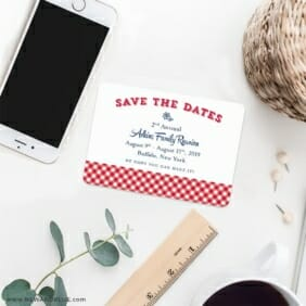 Big Reunion Nb 7 Wedding Save The Date Magnets