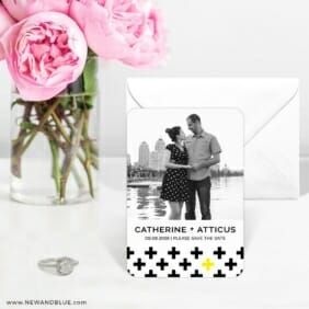 You Plus Me 6 Wedding Save The Date Magnets