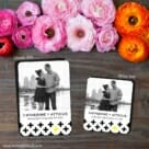 You Plus Me 2 Save The Date Magnet Classic And Petite Size