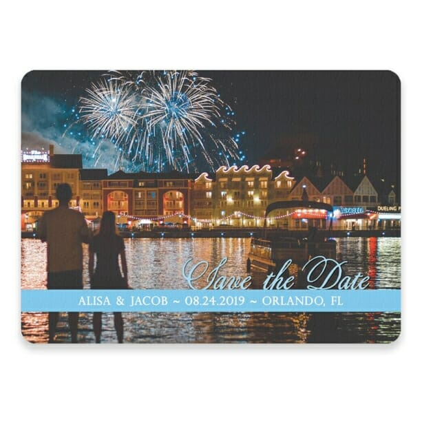 Blissful Love Nb Save The Date Postcards