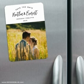 Our Special Love 3 Refrigerator Save The Date Magnets