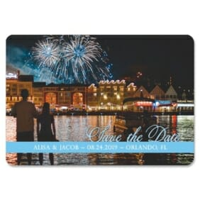 Blissful Love Nb 1 Save The Date Magnets