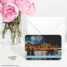 Blissful Love Nb 6 Wedding Save The Date Magnets