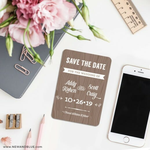 Soho Nb 7 Wedding Save The Date Magnets