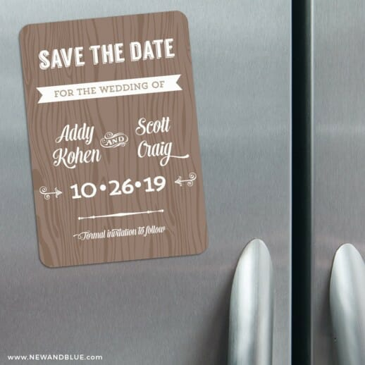 Soho Nb 3 Refrigerator Save The Date Magnets