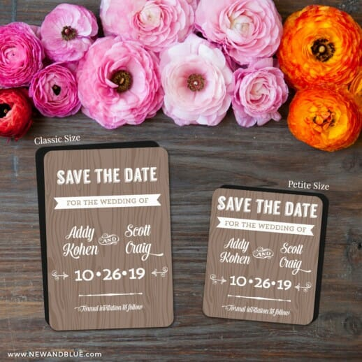 Soho Nb 2 Save The Date Magnet Classic And Petite Size