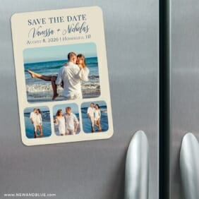 Modern Love Nb 3 Refrigerator Save The Date Magnets
