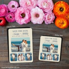 Modern Love Nb 2 Save The Date Magnet Classic And Petite Size