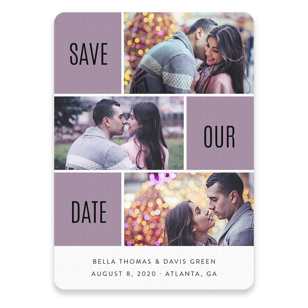 Love Story Save The Date Postcards