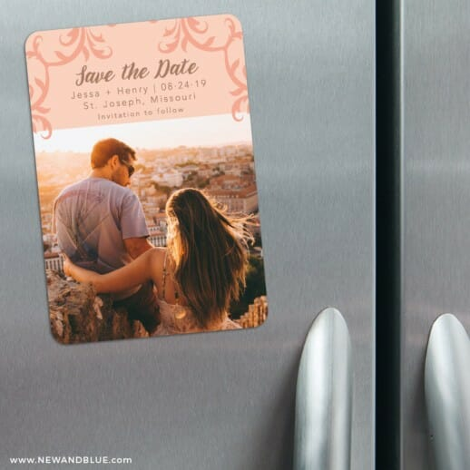Isabella Nb 1 3 Refrigerator Save The Date Magnets