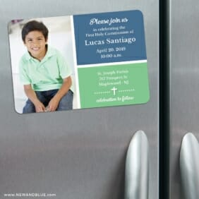 Holy Communion Nb 3 Refrigerator Save The Date Magnets