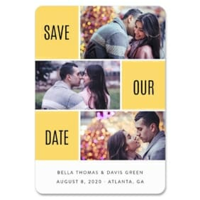 Love Story 1 Save The Date Magnets