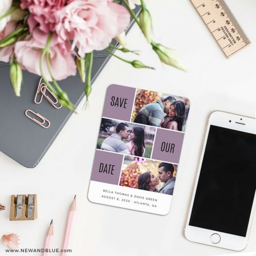 Love Story 7 Wedding Save The Date Magnets