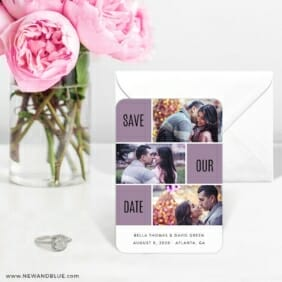 Love Story 6 Wedding Save The Date Magnets