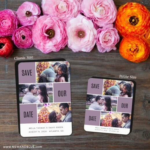 Love Story 2 Save The Date Magnet Classic And Petite Size
