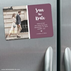 Summer Love Nb 3 Refrigerator Save The Date Magnets