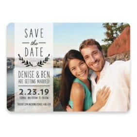 Westerly Save The Date Postcards