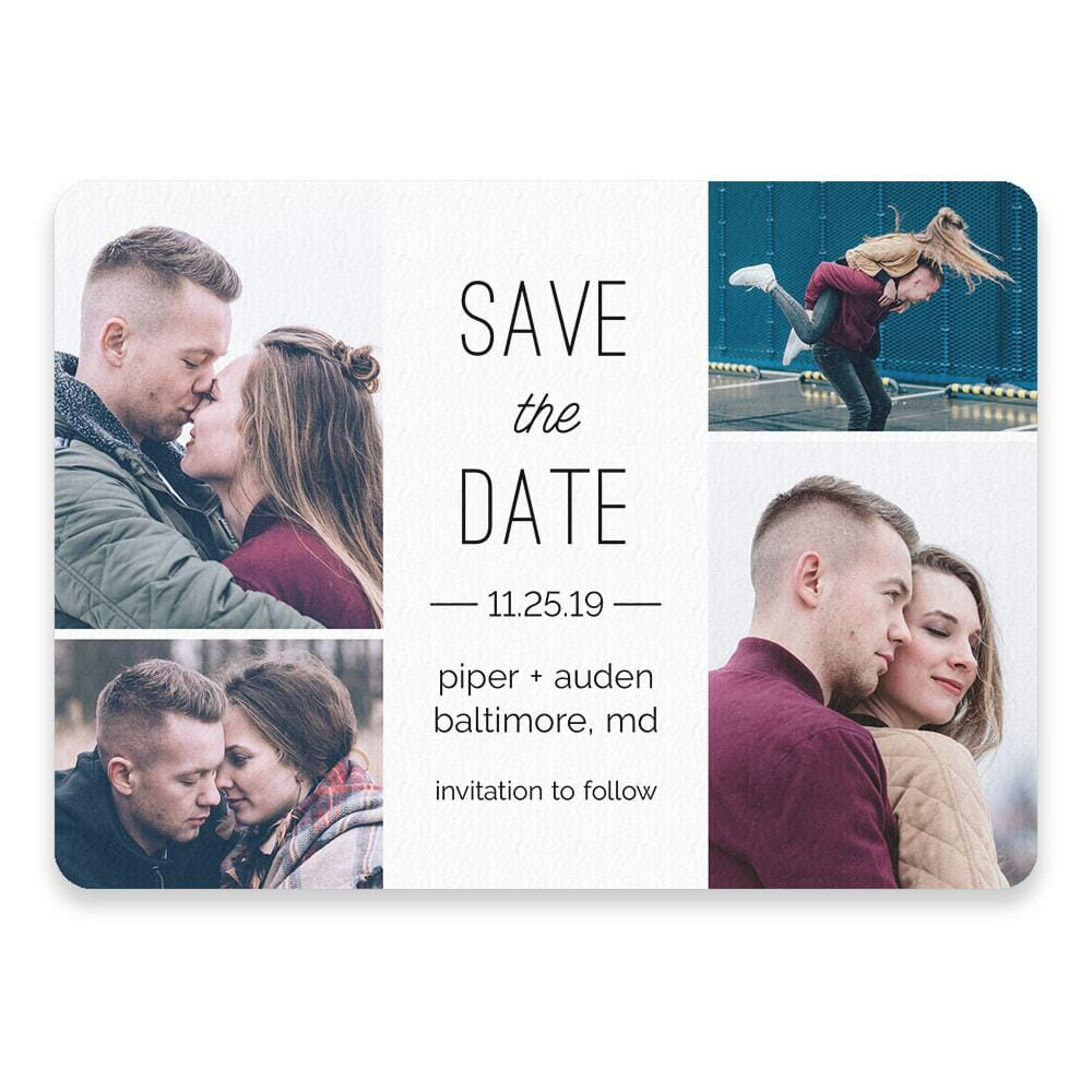 Baltimore Save The Date Postcards