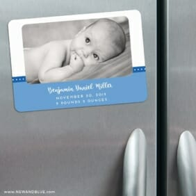 Baby Love Nb 3 Refrigerator Save The Date Magnets