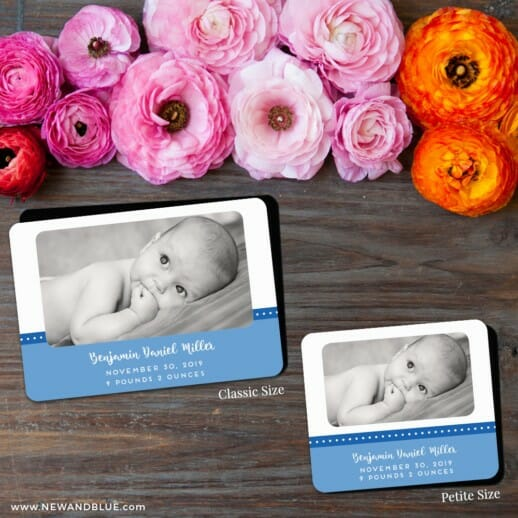 Baby Love Nb 2 Save The Date Magnet Classic And Petite Size