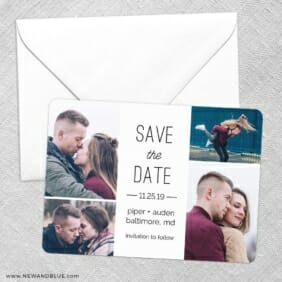 Baltimore Save The Date Party Card