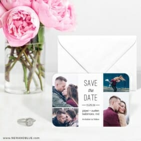 Baltimore4 6 Wedding Save The Date Magnets