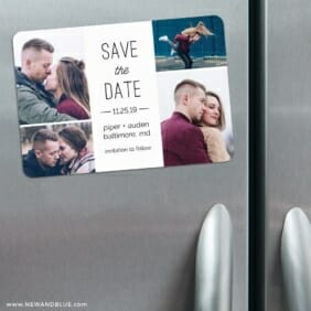 Baltimore4 3 Refrigerator Save The Date Magnets