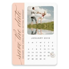 United Calendar Save The Date Postcards