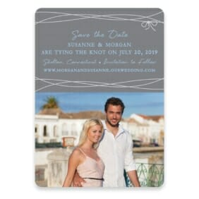 Tying The Knot Save The Date Postcards