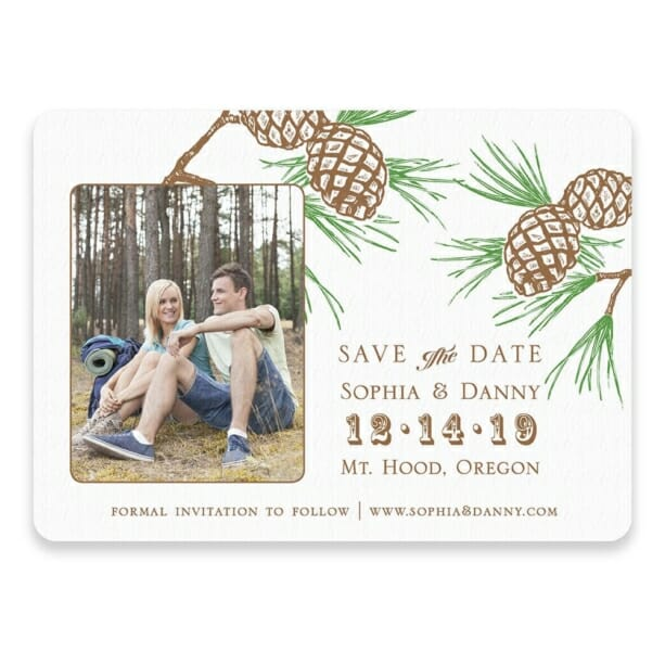 Timberline Save The Date Postcards