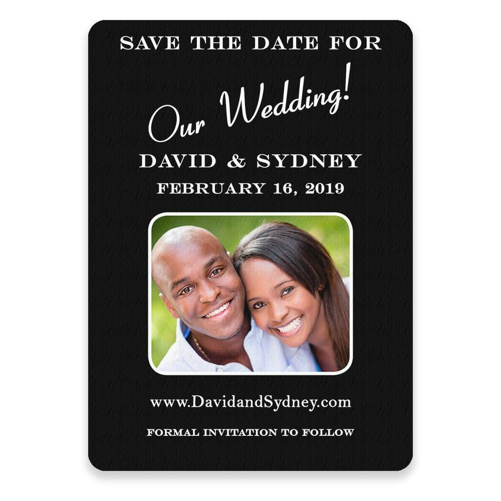 The Big Day Save The Date Postcards