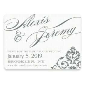 Signature Save The Date Postcards
