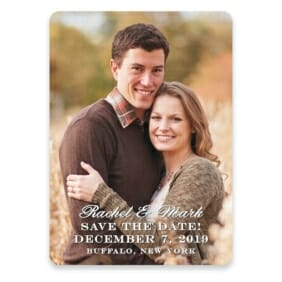 Rachel Save The Date Postcards