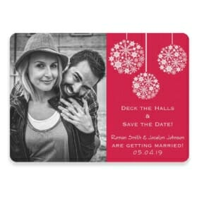 Noel Save The Date Postcards