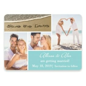 Imagine Save The Date Postcards