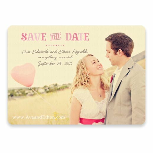 Frolic Save The Date Postcards