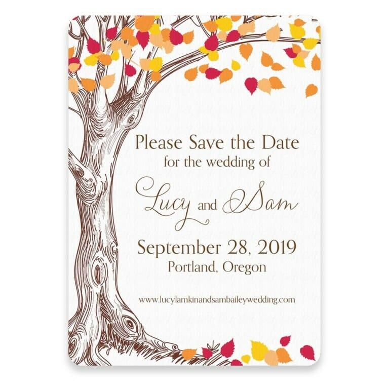 Celebration Of Love Save The Date Postcards
