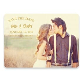 Breaking News Save The Date Postcards
